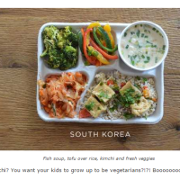 How Does A Typical U.S. School Lunch Compare to Others From Around the World?