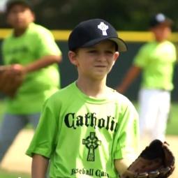 Baseball Catholic Boy