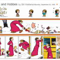 "Back to School With Vintage ""Calvin and Hobbes"""