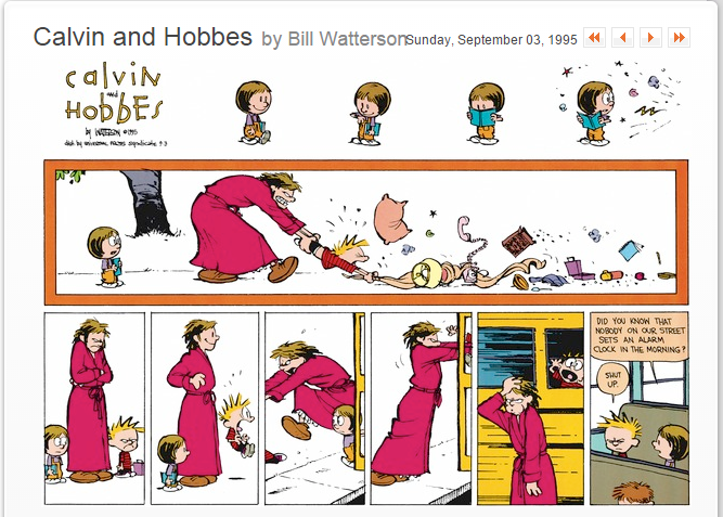 Calvin and Hobbes-1