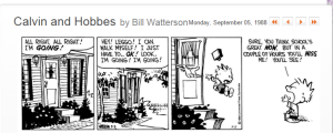 Calvin and Hobbes - 3