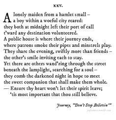 Pop Sonnets - 4