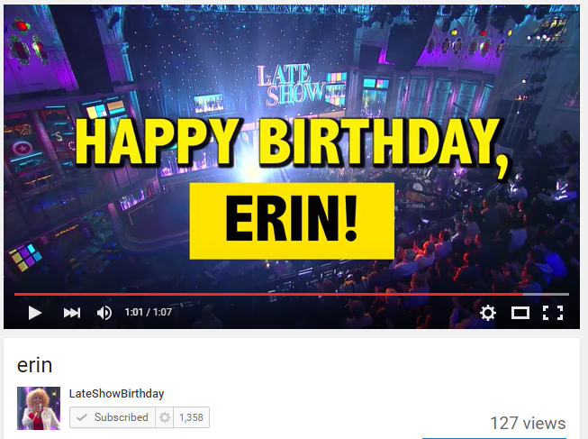 erin   YouTube