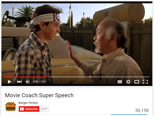 Movie Coach Super Speech   YouTube