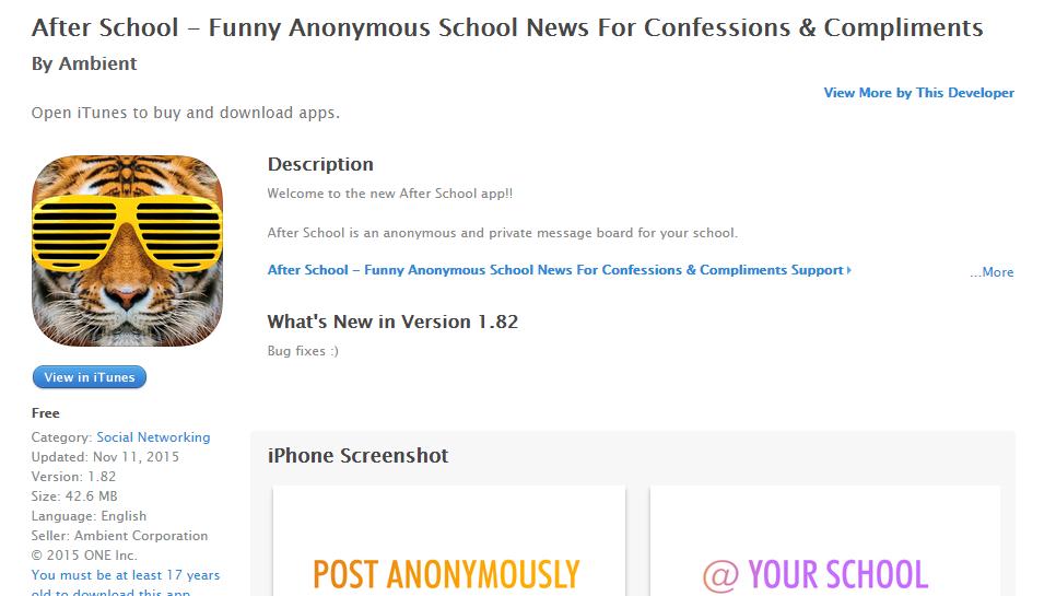 After School App