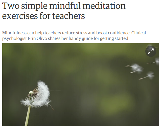 Teacher Meditation