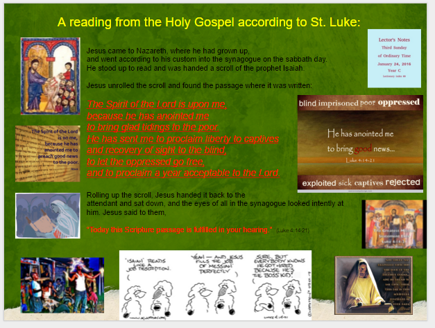 21_Third Sunday Ordinary Time_January 24_2016