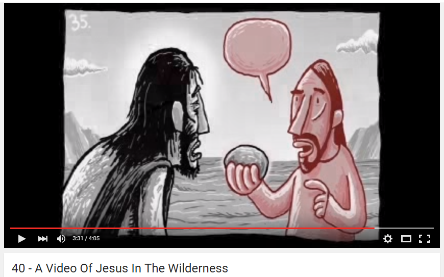 40   A Video Of Jesus In The Wilderness   YouTube