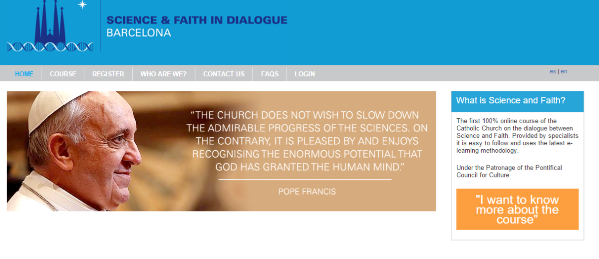 Faith and Science Course