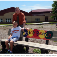 Sun(Fun)day Night Post - Do You Have a Buddy Bench?