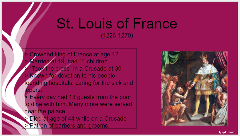 08_25_16_St. Louis of France_St.O Day
