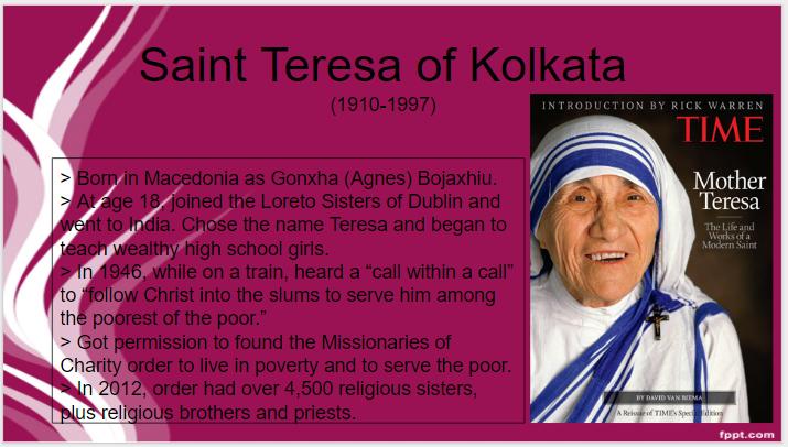 09_06_16_St. Teresa of Kolkata_St.O Day