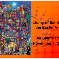 All Saints Day - Litany of Saints Presentation with Music