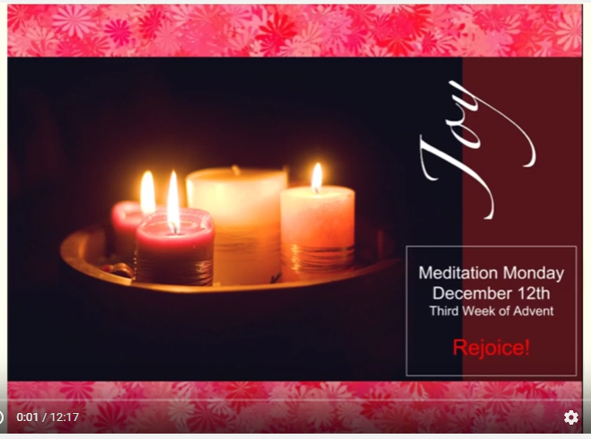 meditation monday third week of advent ed tech emergent. Black Bedroom Furniture Sets. Home Design Ideas