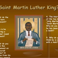 Rev. Dr. Martin Luther King and the Divine Dozen Saints - With Videos!